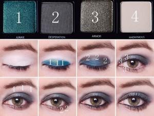 photo-maquillage-tuto-maquillage-soirée-yeux-verts