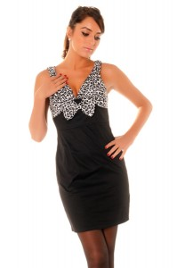 robe imrpimé léopard